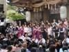 大阪・本町の坐摩神社で音楽・芸術祭 野外ステージでオペラ「椿姫」上演
