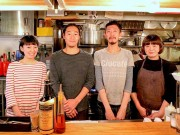 "3 year anniversary of Italian restaurant ""Baccaiun"" in Honmachi Osaka. Bustling with daily customers."