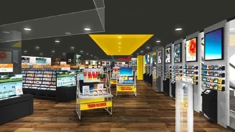 8月23日に移転オープンする「タワーレコード仙台パルコ店」店内イメージ