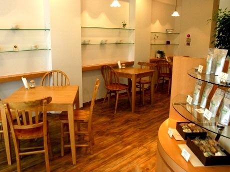 仙台市青葉区にオープンした「Cafe Kotonoha」の店内