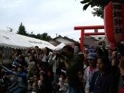 2時22分22秒に「さん、に、いち、ニャー」-仙台の神社で「ねこまつり」