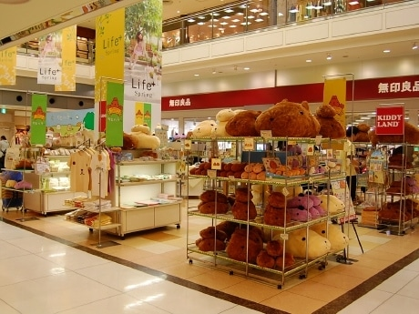 エスパルで開催している「カピバラさんmeets in KIDDY LAND仙台」 ©TRYWORKS