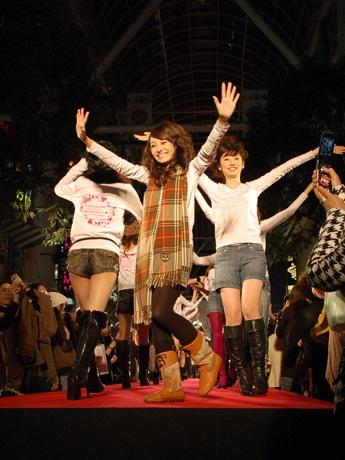 初開催となった昨年の「仙台コレクション」フィナーレの様子