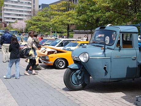 昨年の「ヒストリックカー&クラシックカーミーティングイン仙台」の様子