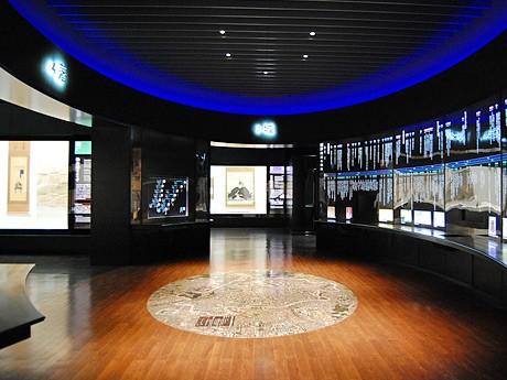 リニューアルした仙台市博物館・総合展示室。仙台城や城下町に関する展示を充実させた
