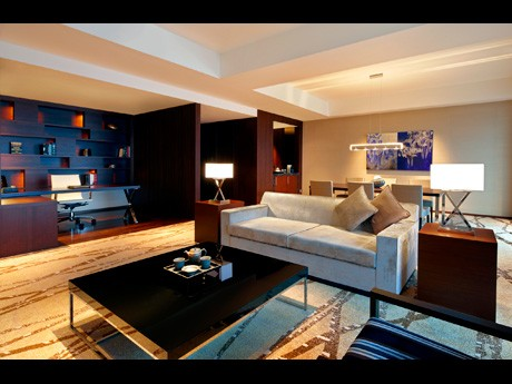 「シティ・アンド・マウンテン プレミアム」プランで提供するウェスティンホテル仙台の「プレジデンシャルスイート」