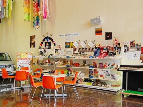 「仙台なびっく」の展示コーナー