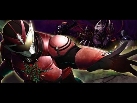 「破牙神ライザー 龍」イメージビジュアル ©RYU PROJECT