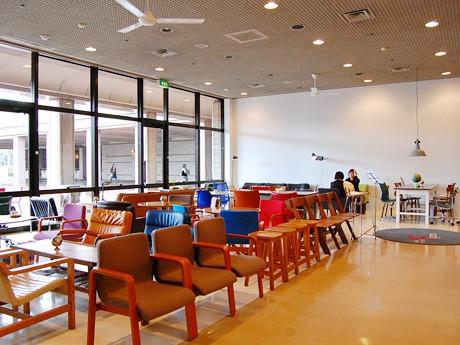 宮城県美術館にオープンしたレストラン「カフェ モーツァルト・フィガロ」
