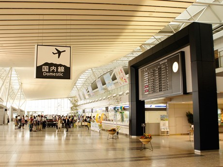 仙台空港国内線出発ロビー