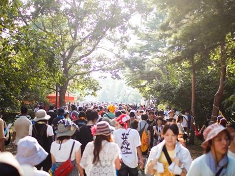 昨年8月に行われた「ARABAKI ROCK FEST.11」の様子