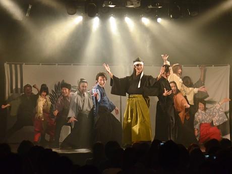 「伊達武将隊」2011年度最終公演「伊達の宴 2012」。1年間の集大成となる舞台を披露した