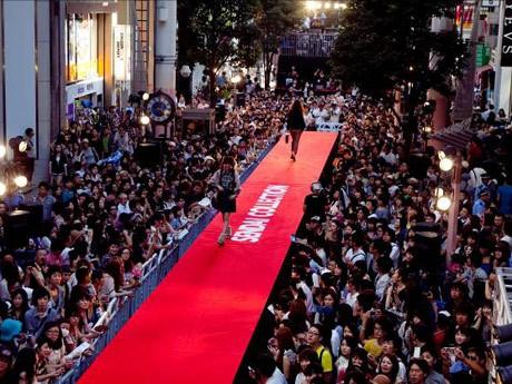 昨年の「仙台コレクション」。震災の影響で開催が危ぶまれたが「全国からの支援で無事開催できた」
