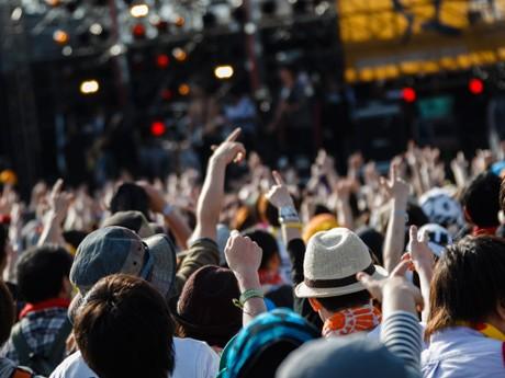 昨年の「ARABAKI ROCK FEST.」。2日間で100組を超えるアーティストが出演し、延べ4万人が来場した