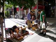 仙台の商店街で「一箱古本市」-開催5年目、関連イベントも