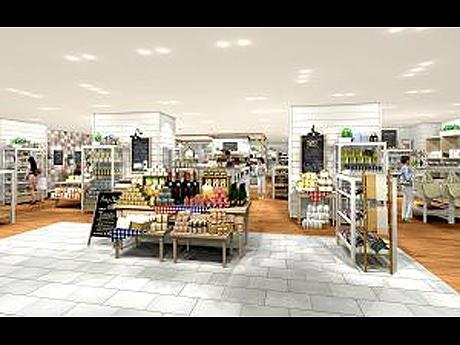 「MI PLAZA MITSUKOSHI」タピオ店。「カフェのようなナチュラルハウス」をコンセプトにした店内イメージ