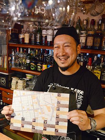 「仙台ビールマップ」を手掛けたアンバーロンド店主の田村さん