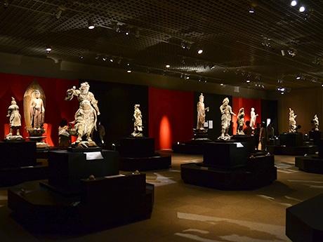 仙台市博物館の特別展「奈良・国宝 室生寺の仏たち」。巡回はせず、同館のみでの展示となる