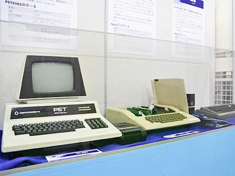 1970年代に発売されたコモドール「PET 2001」(左)とアップル「Apple II」(右)