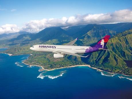 ハワイアン航空航空機