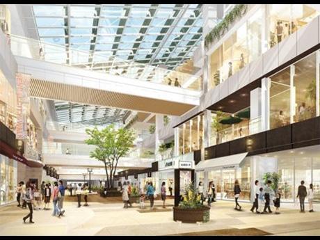 JR仙台駅東西自由通路内イメージ。同日開業するエスパル仙台 東館が通路を挟んで立つ