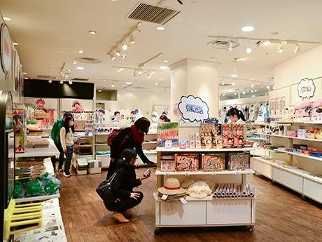 仙台パルコに期間限定オープンした「ジャンプショップ」