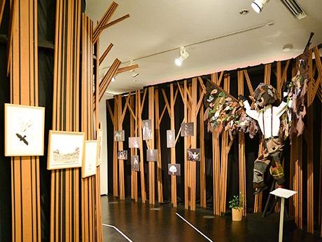 今回初めて展示される「うるうの部屋」。「うるうは僕にとって特別な作品」と小林さん。仙台でも2012年に上演した