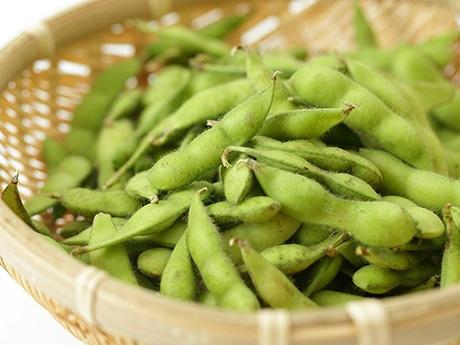 仙台市内でその日の朝採れた枝豆を市内飲食店で提供する