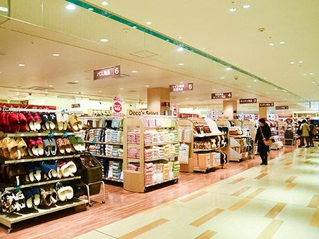 東北初出店の「ニトリ デコホーム」。「ニトリをもっと身近に気軽に感じてもらいたい」と、駅近くや商業施設などで展開する小型店舗