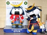 宮城県庁の「むすび丸像」、クリスマス仕様に衣替え 季節に合わせ今後も