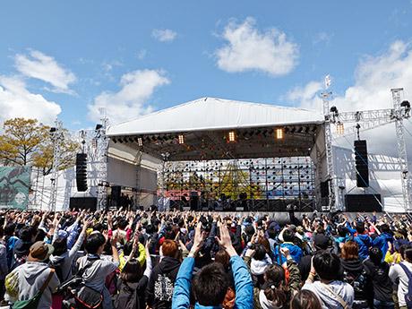 過去最多5万2000人を動員した昨年の「ARABAKI ROCK FEST.」