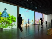 せんだいメディアテークで体験型アート「ハレとケ展」 郷土芸能をテーマにした作品も