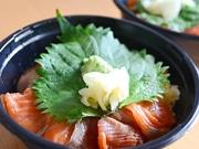 仙台・晩翠通で「みやぎサーモン漬け丼」販売 ランチ時に30食限定で