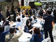 仙台駅前アエル広場で「プレモルフェス」 たる生4種類を200円から