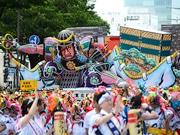 6県の夏祭り競演「東北絆まつり」に45万人 予想上回る人出も混乱なく閉幕