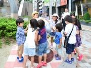 仙台駅東口に「アンパンマンストリート」 石像とタイル設置、子どもたちに思い込め