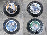 仙台に「ジョジョの奇妙な」マンホール 市内9カ所に設置、観光マップ配布も