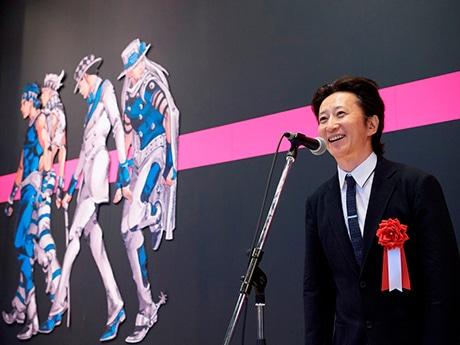 仙台で「ジョジョ展」開幕 原画500点、荒木飛呂彦さん「前よりパワーアップ」