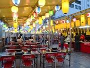 仙台朝市直結のビアガーデン 肉食べ放題のBBQ、市場直送の新鮮魚介も