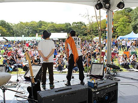 塩竈で音楽・アート・食の野外イベント「GAMA ROCK FES」 和田アキ子さんも