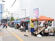 仙台で「駅前マルシェ」、2回目開催へ 日曜のにぎわい創出へ定着目指す