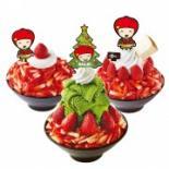 コリアンデザートカフェ「ソルビン」が冬季限定メニュー イチゴ使った3種類