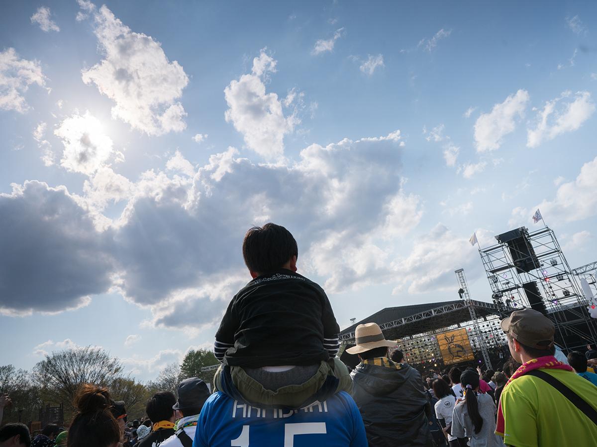 6つのステージで構成される「ARABAKI ROCK FEST.」。写真は1万人を収容する陸奥(MICHINOKU)ステージ