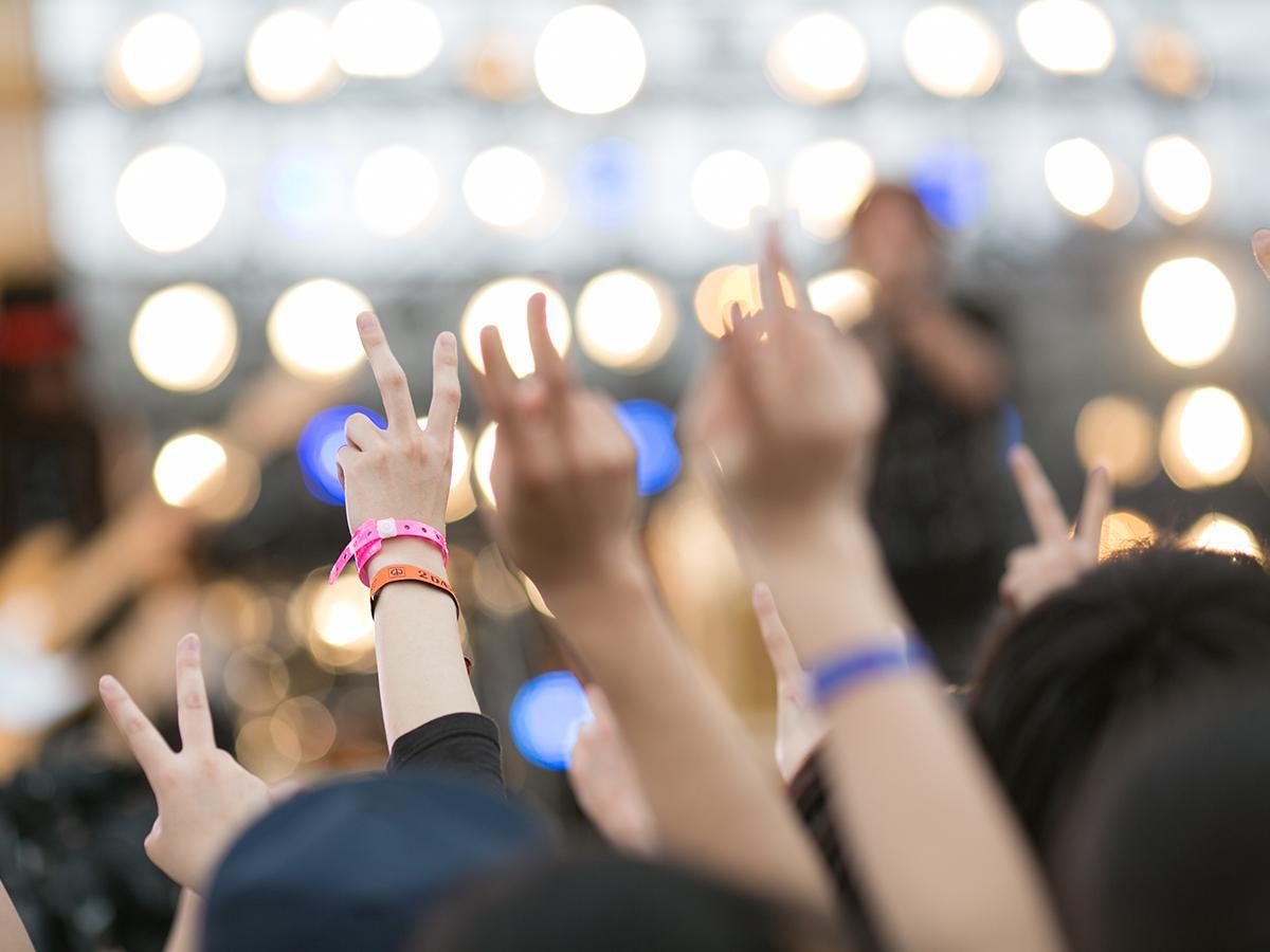 100組以上のアーティストが出演し、過去最多の延べ5万4000人が来場した昨年の会場の様子