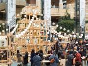 勾当台公園市民広場で「CRAFT SAKE WEEK東北」 中田英寿さんプロデュース
