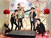 仙台パルコでアニメ「ユーリ!!! on ICE」展覧会 衣装や原画展示、フォトスポットも