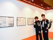 仙台市体育館で「ハイキュー!!」初の原画展 1話丸ごとなど450点、市内で関連企画も