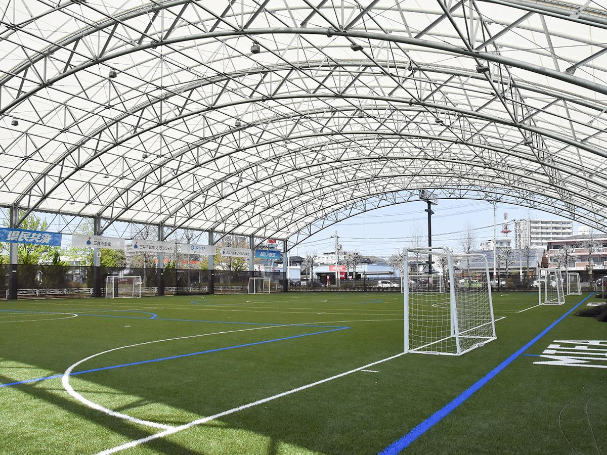 「MIFA Football Park 仙台」のコート