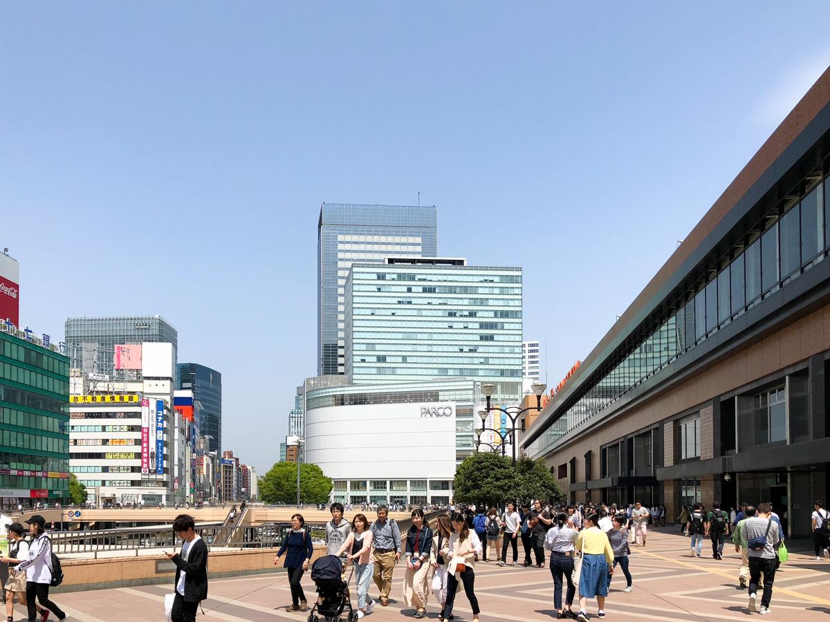 「SUUMO住みたい街ランキング2018 仙台版」1位の仙台駅前