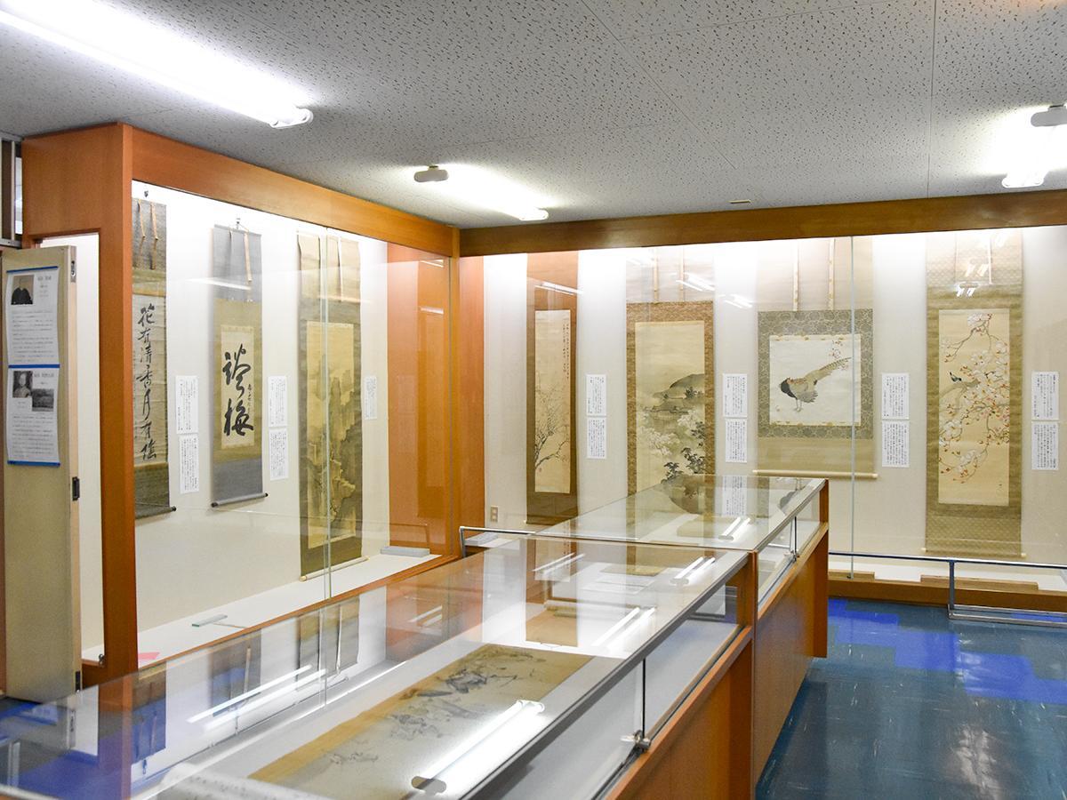 休館まで8期に分けて展示を行っている福島美術館。現在は第3期「花鳥風月~美術の中の自然」